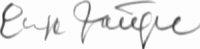 The signature of Oberleutnant Ernst Scheufele (deceased)