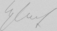 The signature of Oberleutnant Erwin Leykauf (deceased)