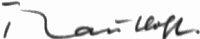The signature of Hannes Trautloft (deceased)