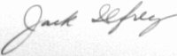 The signature of Colonel Jack M Ilfrey (deceased)