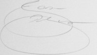 The signature of Jason Robinson