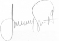 The signature of Jeremy Guscott