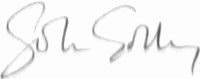 The signature of Flight Lieutenant John Golley