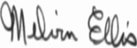 The signature of Melvin Ellis USN