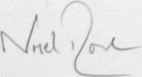 The signature of Squadron Leader Stuart Nigel Rose (deceased)