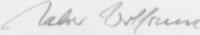 The signature of Walter Wolfrum (deceased)