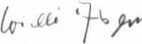 The signature of Matrosen Obgefreiter Wilhelm Alsen