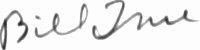 The signature of Sergeant William True