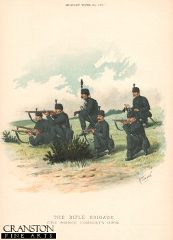 Rifle Brigade (The Prince Consorts Own) by Richard Simkin.