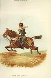 14th Hussars by Richard Simkin (P)