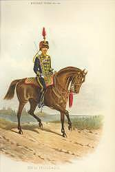 20th Hussars by Richard Simkin. (P)