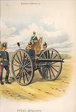 Royal Artillery by Richard Simkin.