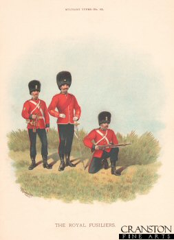 The Royal Fusiliers by Richard Simkin (P)