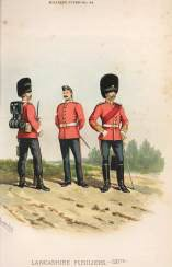 Lancashire Fusiliers by Richard Simkin.