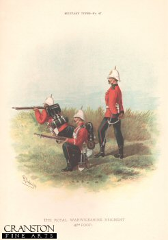 Royal Warwickshire Regiment (6th Foot) by Richard Simkin (P)