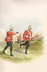 The Devonshire Regiment (11th Foot) by Richard Simkin (P)