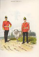 The Welsh Regiment (41st & 69th Foot) by Richard Simkin (P)