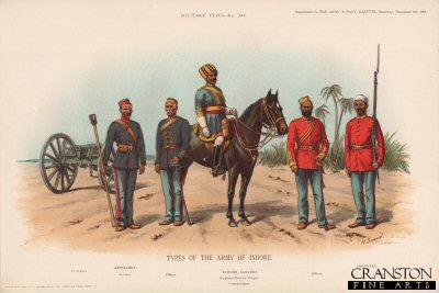 Types of the Army of Indore by Richard Simkin