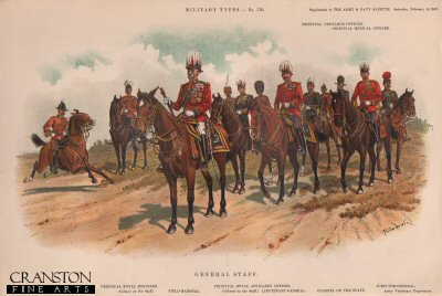General Staff by Richard Simkin (P)