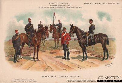 Provisional Cavalry Regiments by Richard Simkin