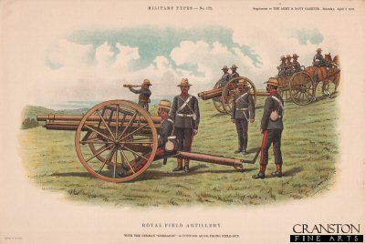 Royal Field Artillery by Richard Simkin