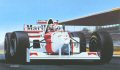 B41. Nigel Mansell, McLaren MP4/10/B by Ivan Berryman.
