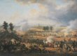 Panoramic view of the battle fought between the French and the Austrian armies on 14th June 1800. </b>