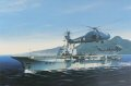 Shown here flying of Wessex HU MK5s of No. 846 Squadron  A veteran of the Suez crisis during which time she operated of Grumman Avengers and sea hawks, HMS Bulwark was reduced to training status during 1957. but re emerged as a Commando carrier. Furt......