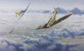 Sailor Malam leading 74 Squadron engaging Me109s of I/JG52 during the Battle of Britain, September 1940. ......