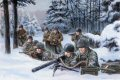 Vielsalm, Belgium, 22nd December 1944.  Men of the 508th PIR, along with the rest of the 82nd Airborne Division were rushed to the Ardennes and deployed in an attempt to halt the onslaught of 6th SS Panzer Army, specifically Kampfgruppe Peiper. ......
