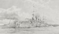 DHM2182.  Scharnhorst at Anchor by Robert Taylor. ......