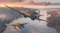 Of the many famous combat aircraft to serve their respective countries in the Second World War, two perhaps more than any others, created huge impact and consternation upon seasoned opposing pilots when they first appeared on the battlefront - the Su......