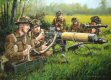 Near Caen, D-Day, 6th June 1944.  Vickers heavy machinegun team of the British 3rd Division, <i>Monty&#39;s Ironsides</i>, in action against the German strong points Morris and Hillman.  The division comprised of the 2nd East Yorkshires, 1st South L......