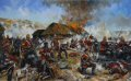 The Battle at Rorke's Drift, also known as the Defence of Rorke's Drift, was an�action in the Anglo-Zulu War.  The defence of the mission station of Rorke's Drift, under the command of Lieutenant John Chard of the Royal Engineers, immedi......