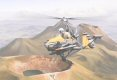 Wing Commander Ken Wallis flies his WA-115 autogyro over the Shinmoi Crater in the Krishima area of the southern Japanese island of Kyushu in preparation for filming the action sequences for the James Bond film <i>You Only Live Twice</i>.  Those of us who enjoy a certain series of spy films will be much aware of Little Nellie, designed by Wing Commander Ken Wallis MBE She is pictured flying above the tops of extinct volcanoes.  Little Nellie was one of 3 military Type WA-116 built during 1962 and one of these remains today taking part in military exercises and with camouflage bodywork.  These operate in remote military and civilian roles and a specially-silenced WA-117 was used during the Loch Ness investigation and for special photography in Saudi Arabia.  These effective and nimble autogyros have been flown from Naval patrol craft which are too small for helicopters.  The Wallis autogyros have held all 20 of the UK official world records for autogyro speed, time to climb, altitude, range and duration and even now, further world record-breaking flights are being planned.