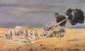 DHM6204AP.  32 Regiment Royal Artillery In the Gulf War, 1991 by David Rowlands.  ......