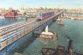 Docklands Light Railway - West India Docks Crossing. ......