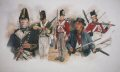 DHM708P.  Men of the British Navy During the Battle of Lake Erie 1813 by Chris Collingwood.