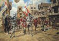 On the 22nd May 1455, the struggle for control of the government of England boiled over into armed conflict in the first battle of what would become known as the Wars of the Roses. When King Herny VI regained his sanity in January 1455, the Duke of ......