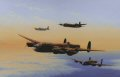 Lancaster, Halifax, Stirling and Mosquito of Bomber Command.