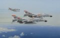 F-4B Phantoms of VF-114 Aardvarks flying a MIGCAP mission over the Gulf of Tonkin in the spring of 1968.......