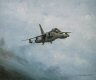 This print shows a Jaguar in particularly aggressive pose during a high speed low-level training mission to demonstrate modern fast-jet operations. As a serving Jaguar pilot, artist Michael Rondot was in a unique position to take passengers flying in......
