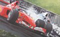 M. Schumacher / JP Montoya.  Brazilian GP 2001.