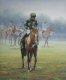 Horse and jockey after a gruelling marathon.