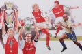 It was Saturday 4th May 2002, the Millennium Stadium in Cardiff.  Wonderful goals by Ray Parlour and Freddie Ljungberg for Arsenal were too much for their London rivals Chelsea to capture the FA Cup.  Four days later, on Wednesday 8th, Arsenal rode i......