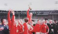 The jubilant celebrations following the presentation of the Jules Rimet trophy will long be remembered.......