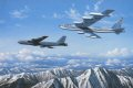 The Boeing B-52 Stratofortress has played a major role in Americas defense for nearly forty years. In his dramatic painting appropriately entitled B-52s: They Keep On Ticking, aviation artist Stan Stokes depicts an early big-tailed B-52B and a more ......