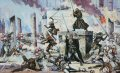 Only this authorised original Star Wars painting is available.......