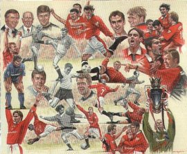 Manchester united past and present ii by peter deighan