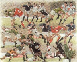 World Rugby by Peter Deighan.